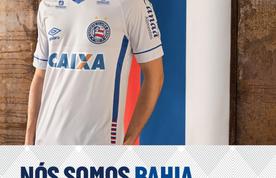 Imagem destacada da publicação Umbro lança nova camisa do Bahia inspirada na Rússia