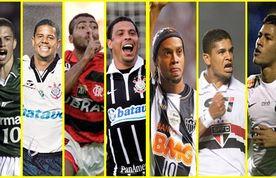 Imagem destacada da publicação Os gols mais bonitos do futebol brasileiro