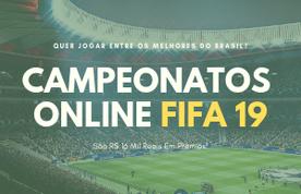 Imagem destacada da publicação Campeonatos Online de FIFA 19