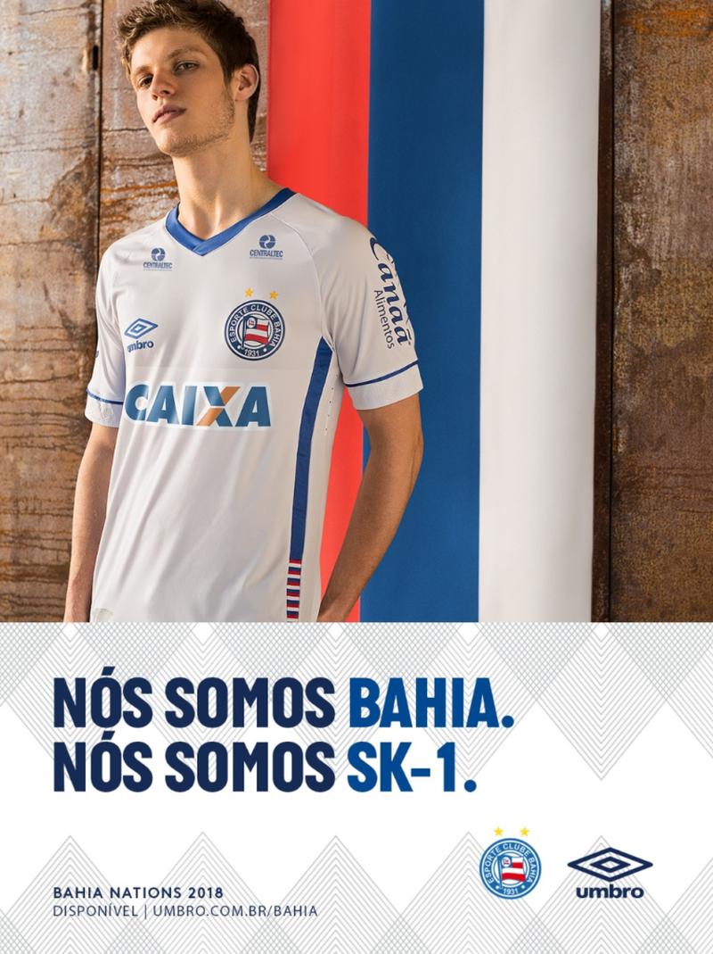Umbro lança nova camisa do Bahia inspirada na Rússia - Tabela do ... 1ab841f606947